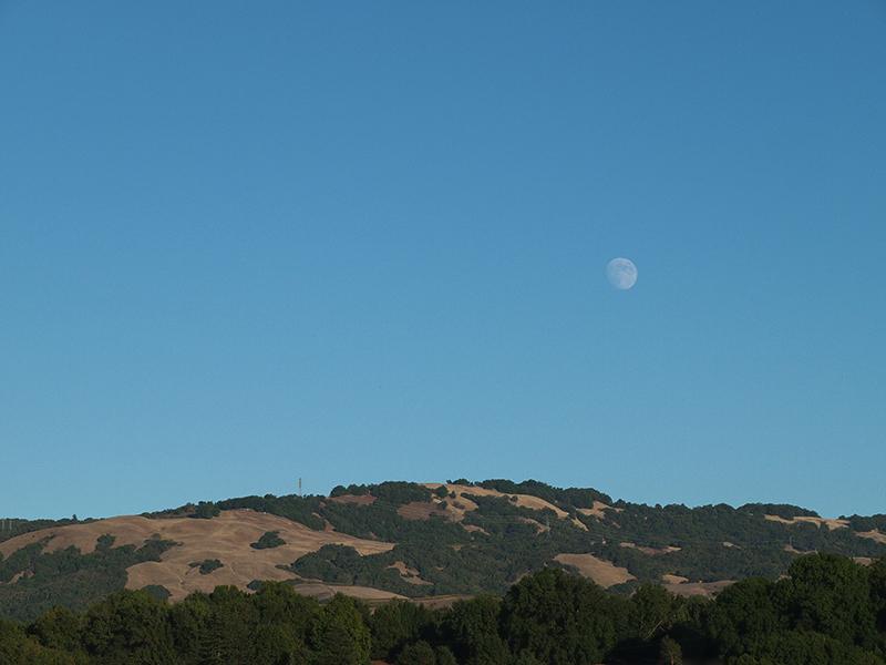 La lune vue de la Californie 20121026_3738