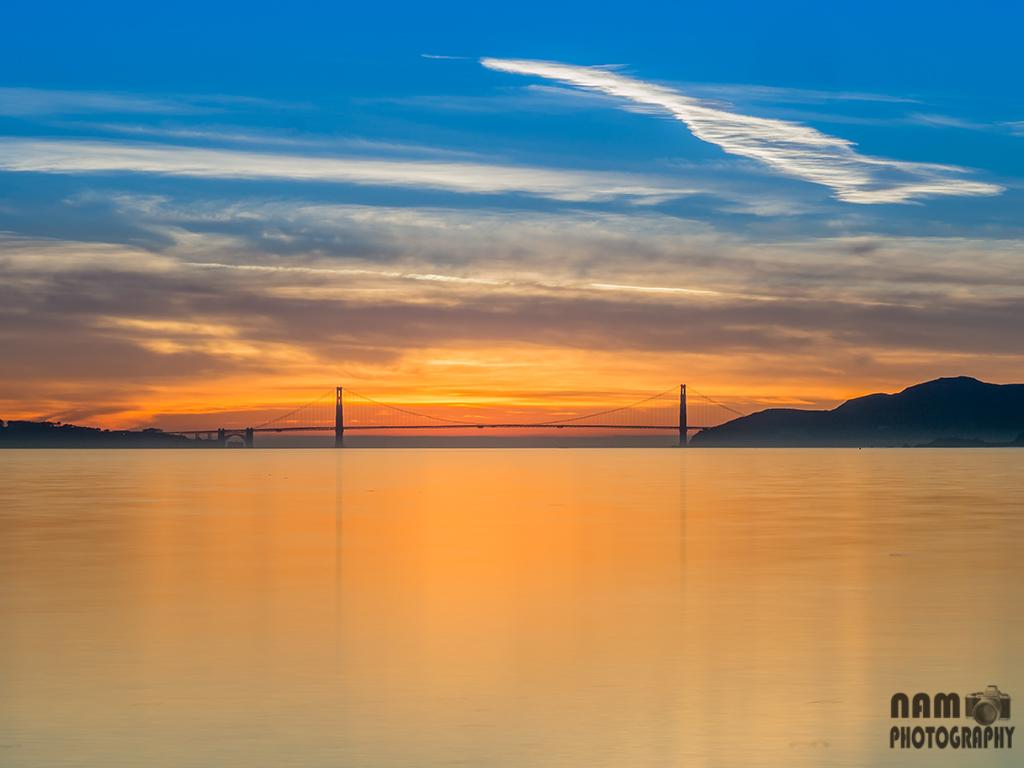 Golden Gate Bridge Golden Hour 20140104_4675