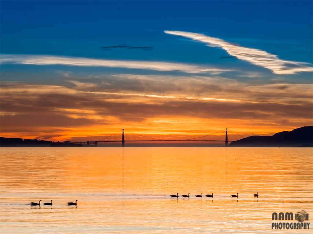 Golden Gate Bridge Golden Hour 20140104_4682